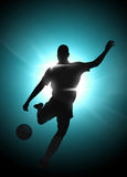 Soccer or football background Stock Photos