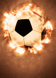 Soccer or football background. Soccer or football sport poster or flyer background with space Stock Images