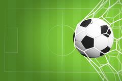 Soccer or football background Stock Photos