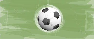 Soccer or football background Stock Photography