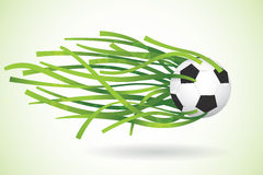 Soccer / Football Background. Vector Illustration. Royalty Free Stock Photos
