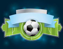 Soccer - Football Badge and Banner Royalty Free Stock Photo