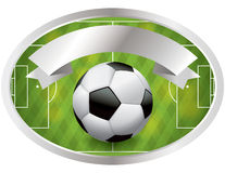 Soccer - Football Badge and Banner Stock Photo