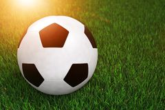 Soccer Football Ball Royalty Free Stock Images