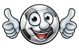 Soccer Football Ball Mascot Royalty Free Stock Photography