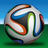 Soccer football ball. Vector file soccer football bal Royalty Free Stock Images