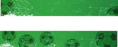 Soccer / Football banner template Stock Photos
