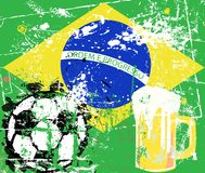 Soccer / Football in Brazil Royalty Free Stock Images