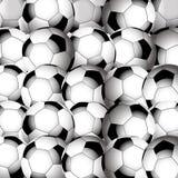 Soccer football closeup background Royalty Free Stock Photos