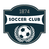 Soccer or Football Club Royalty Free Stock Photo