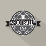 Soccer or Football Club Label Stock Photos