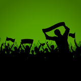 Soccer or Football crowd background Stock Photos