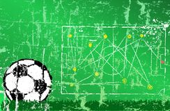 Soccer / Football design template Stock Image