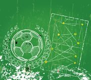 Soccer / Football design template Royalty Free Stock Image