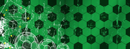 Soccer / Football design template. Great soccer event in france,free copy space, vector Stock Images