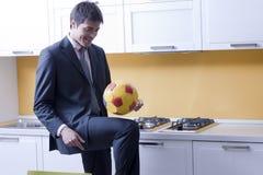 Soccer/football fever! Royalty Free Stock Image