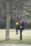 Soccer/football fever! Stock Images