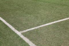 Soccer football field Royalty Free Stock Image