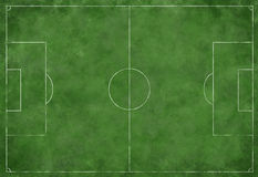 Soccer or Football Field Royalty Free Stock Photography