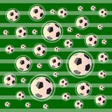 Soccer or Football Field Abstract Background Stock Photos