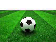 Soccer football field Stock Photography