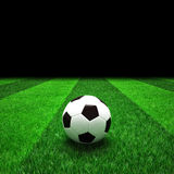 Soccer football field Royalty Free Stock Photography