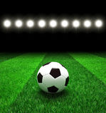 Soccer football field Stock Images