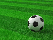 Soccer football field Royalty Free Stock Photography