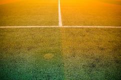 Soccer football field stadium grass Stock Images