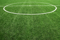 Soccer football field stadium Royalty Free Stock Photography