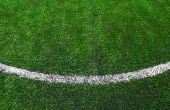 Soccer football field stadium grass Stock Photo