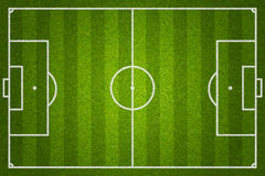 Soccer or football field Stock Images