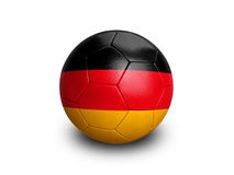 Soccer Football Germany. High resolution and highly detailed 3D rendering of a german soccerball. With clipping path removes the soft shadow. More balls in my royalty free illustration