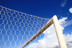 Soccer or Football Goal Conner Royalty Free Stock Photography