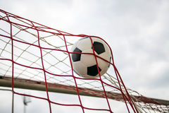 Soccer football Goal Royalty Free Stock Image