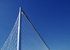 Soccer Football Goal Net Royalty Free Stock Photos