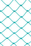 Soccer Football Goal Post Set Net Rope Detail, New Green Goalnet Stock Photos
