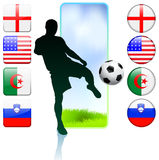 Soccer/Football Group C.  Royalty Free Stock Photography