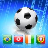 Soccer/Football Group G.  Royalty Free Stock Photo