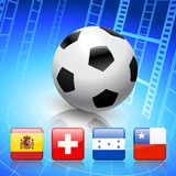 Soccer/Football Group H Stock Photography