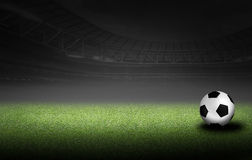 Soccer and football illustration background Stock Images