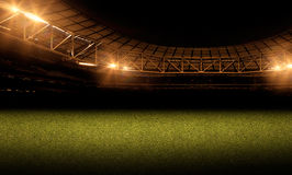 Soccer and football illustration background. Sport abstract background and illustration image Stock Photos