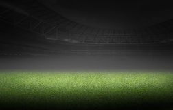 Soccer and football illustration background Stock Photography