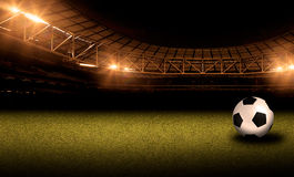 Soccer and football illustration background. Sport abstract background and illustration image Stock Images