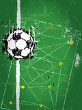 Soccer / Football illustration Royalty Free Stock Image