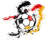Soccer / Football illustration Stock Image