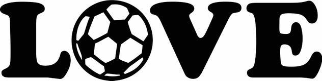 Soccer Football Love Stock Photos