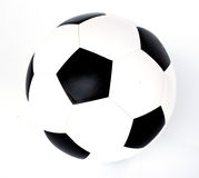 Soccer football. New football in white background Royalty Free Stock Image