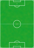 Soccer or football pitch Stock Images