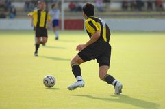 Soccer football player Stock Photos